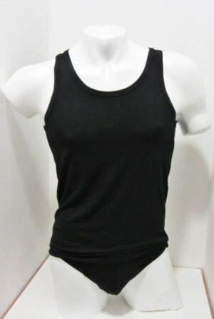 Modal - micromodal Moška majica ozka naramnica iz modala