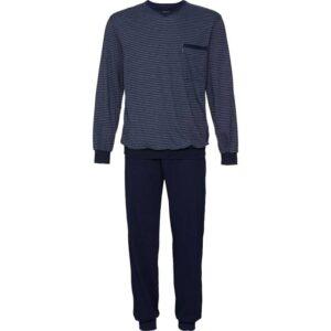 Moške pižame Moška pižama dolg rokav s patentom
