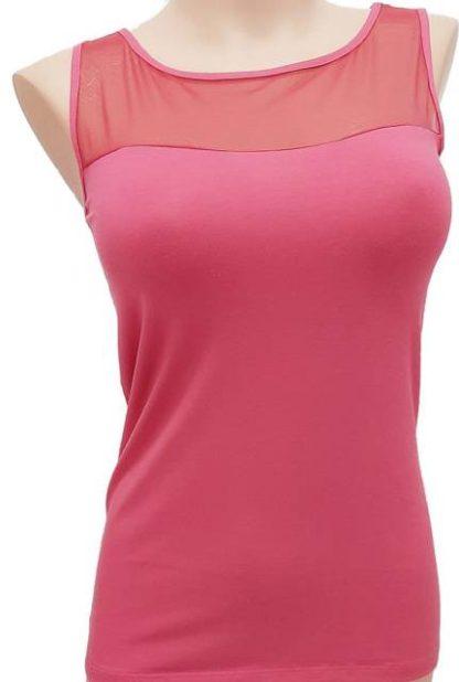 Spodnje majice (kanotirce) široka naramnica Ženska majica široke naramnice. Vrhnji del iz tula