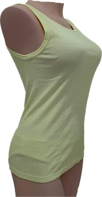 Ekološki izdelki Ženska majica na široke naramnice narejena iz bombaža ter barvana s sadjem