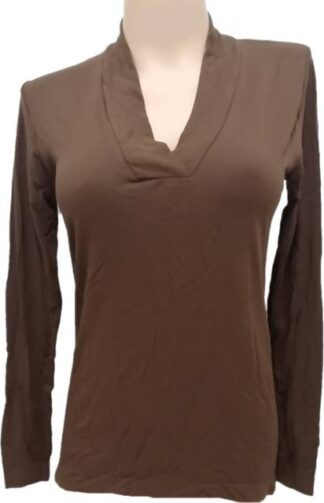 Ženska Majica na V izrez iz modala in poliamida Zadnji kosi-ugodne cene trgovinamacek 2