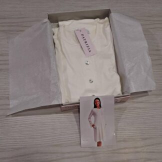 Ženska spalna srajca dolg rokav s čipko Jesen-zima trgovinamacek