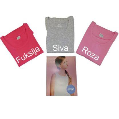 Otroška majica široka naramnica, deklice, barvane Deklice trgovinamacek 11