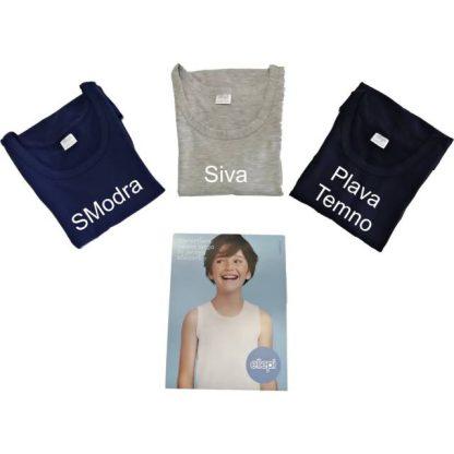 Otroška majica široka naramnica, dečki, barvane Dečki trgovinamacek 10