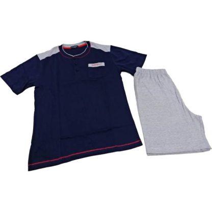 Moška pižama kratek rokav iz bombaža Moške pižame trgovinamacek 3