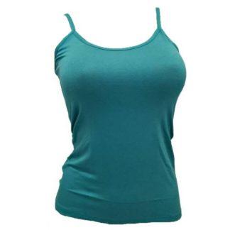 Ženska majica na ozke naramnice iz viskoze Spodnje majice (kanotirce) ozka naramnica trgovinamacek