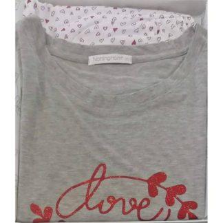 Ženska pižama kratek rokav in kratke hlače Pomlad-poletje trgovinamacek