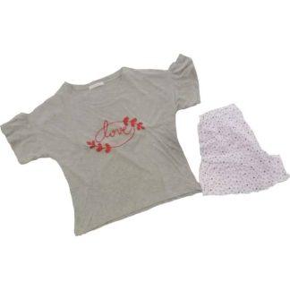 Ženska pižama kratek rokav in kratke hlače Pomlad-poletje trgovinamacek 2