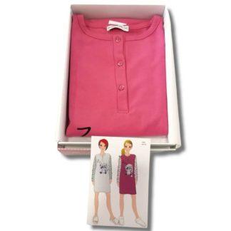 Ženska topla spalna srajca dolg rokav Jesen-zima trgovinamacek