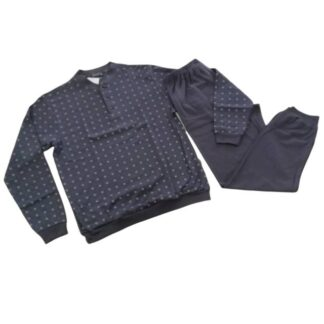 Moška pižama dolg rokav iz toplega bombaža Moške pižame trgovinamacek 3