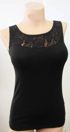 Spodnje majice (kanotirce) široka naramnica ŽENSKA MAJICA