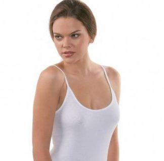Spodnje majice (kanotirce) ozka naramnica ŽENSKA MAJICA