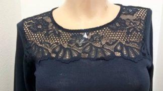 Ženska majica dolg rokav iz mešanice akrila in volne Spodnje perilo iz volne trgovinamacek 2