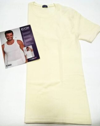 Moško spodnje perilo iz volne Moška majica kratek rokav iz volne in svile art.:456