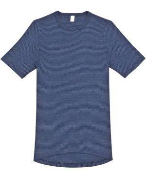 Bombaž Moška majica kratek rokav, podaljšana zadaj