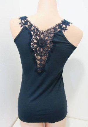 Spodnje majice (kanotirce) široka naramnica Ženska majica na široke naramnice iz viskoze