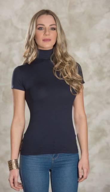 Spodnje majice kratek - dolg - 3/4 rokav in puliji Ženska majica na puli ovratnik kratek rokav iz viskoze