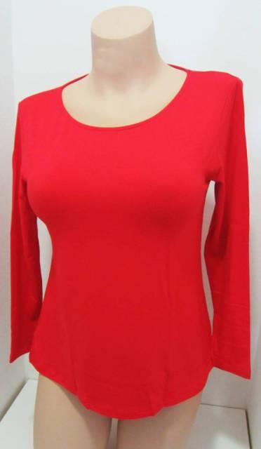 Ženska majica dolg rokav iz mešanice modala in volne Spodnje majice kratek - dolg - 3/4 rokav in puliji trgovinamacek 2