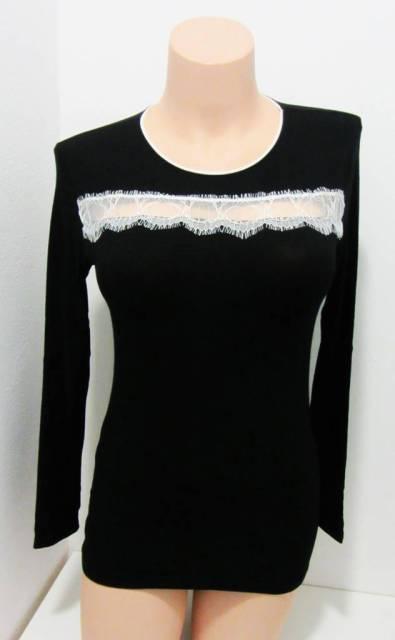 Spodnje majice kratek - dolg - 3/4 rokav in puliji Ženska majica dolg rokav iz modala