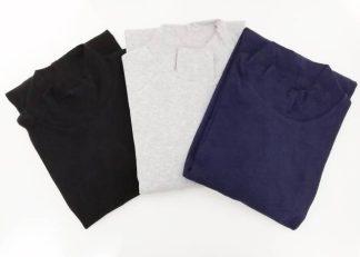 Moška majica polpuli dolg rokav iz bombaža in elastana Cotonella in druge znamke trgovinamacek 2