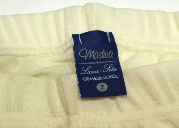 Spodnje perilo iz volne Ženske hlače, pajkice iz volne in svile