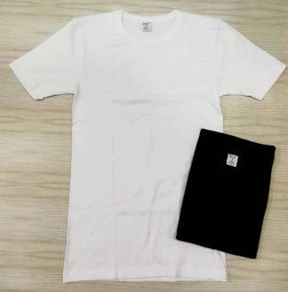 Cotonella in druge znamke Moška majica na kratek rokav na okrogu izrez iz 100% bombaža