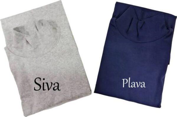 Spodnje majice kratek - dolg - 3/4 rokav in puliji Ženska majica polpuli kratek rokav