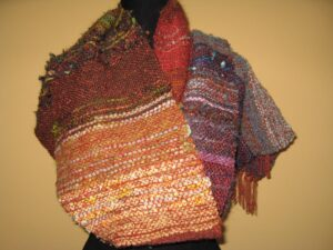 Pleteni in tkani šali